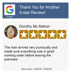 Auto Locksmith, Online Reviews, Dublin, Star, Stars