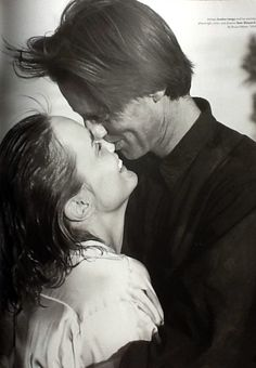 Bruce Weber's wonderful photo of Sam Shepard and Jessica Lange. Love made visible.