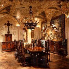 Italian Renaissance Dining Room