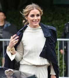 Olivia Palermo - American beauty: She dotted the odd item of gold jewelry here and there for a splash of classic bling - July 15, 2017