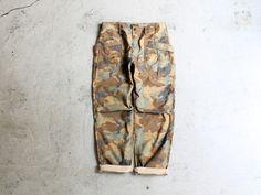 A Vontade Fatigue Trousers -Woodland Camo