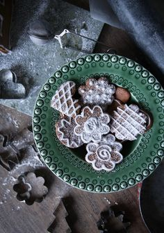 Ginger bread cookies by Anna Kubel
