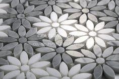 Image result for flower mosaic tile