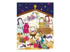Non-chocolate traditional nativity advent calendar | Caroline Gardner