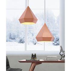 Zuo Forecast Pendant Light - Rose Gold, Pink/Gold