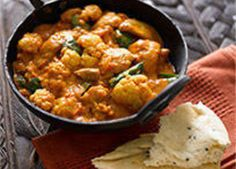 Celebrate Curry Week or ditch the takeaway with this easy and tasty curry with British cauliflower.