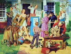 Arte Pinturas Óleo: Figura Humana al Óleo, Harold N Anderson