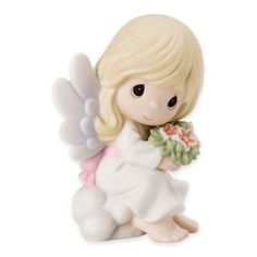 "Precious Moments ""Forever In My Heart"" Bisque Porcelain Figurine - JCPenney Precious Moments Quotes, Precious Moments Figurines, Biscuit, Zombie Dolls, Bereavement Gift, Sympathy Gifts, Porcelain Jewelry, All Gifts, Christmas Angels"