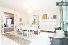 Enormous Glamorous Downtown Loft in New York Downtown Lofts, New York Loft, Table Seating, Perfect Place, Condo, Rooms, Vacation, Chair, Furniture