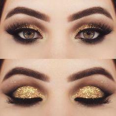 Resultado de imagen para golden make up