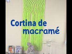 Cómo hacer una cortina de macramé - YouTube