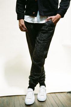 Publish Trouski (Black) Wool Jogger Pants. Now available via www.PublishBrand.com for $108 USD. #INSTASTREETWEAR #Streetwear #Publish #Fashion