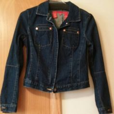 *Final Sell Price* BCBG Blue Jean Jacket Very cute, 2 pockets, zip up, in good condition jean jacket. BCBG Jackets & Coats Jean Jackets