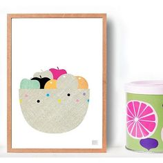 My dog keeps eating the fruit from our fruit bowl when we go out. I think this gorgeous print may be a better option. Search 'fruity #1 print' on dtll.com.au or click on the shopable link in our profile to buy #dtll #downthatlittlelane