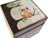 I'm going to have a keepsake box similar to this made with birds and butterflies too.