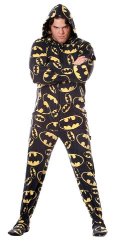 I would actually wear this around the house...and sing the Batman theme whenever I caught a glimpse of myself in the mirror!