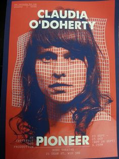 "Claudia O' Doherty: Pioneer at Soho Theatre, ""a whirlwind of conceptual eccentricity"": http://www.whats-on-london.co.uk/review/claudia-o-doherty-pioneersoho-theatre/"