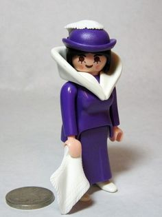 Playmobil 5600 Figure Ambassabors Wife Hat Handkerchief Victorian Dollhouse   PLAYMOBIL Playmobil eb5873bee2ec