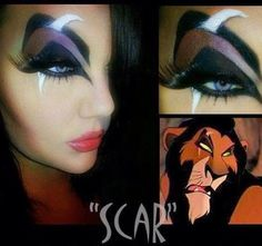 Halloween Makeup. Awesome!!