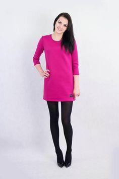 Sukienka z pianki z koronką w evlin na DaWanda.com