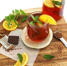 Mint Chocolate Rooibos Iced Tea