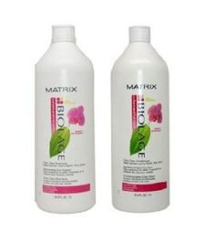 nice Matrix Biolage Colorcaretherapie Color Care Shampoo and Conditioner Set 33.8oz 1 Liter