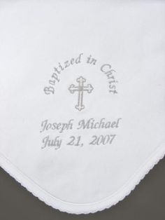 handcrafted Baptism and first Communion gifts