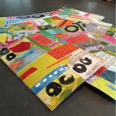 Postcards by Meredith Gisness for the DIY Postcard Swap 2016 arranged  by @ihanna #mailart #diypostcardswap