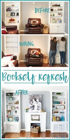 Bookshelf Refresh wi