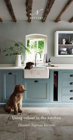 Kitchen Interior, New Kitchen, Kitchen Decor, Kitchen Sink, Smart Kitchen, Soapstone Kitchen, Kitchen Floors, Wooden Kitchen, Kitchen Backsplash