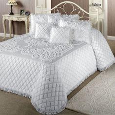 chenille bedspreads   Home Lilian Chenille Bedspread
