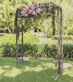 Wood arch wedding backdrops pinterest arch chuppah and wedding hire only recycled timber ladder wedding arch nsw hire rustic character junglespirit Gallery