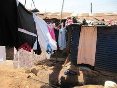 Pyykit kuivumassa Nairobissa.