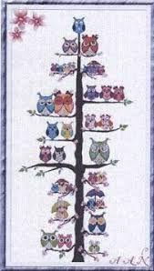 Imagini pentru cross stitch owl