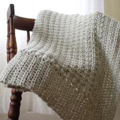 Meadow Sage Baby Blanket