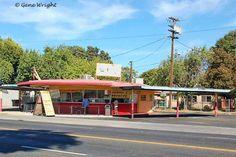 Former Wilson Tower Restaurant, (1957) - Oscar's Drive Inn, (1976) - Big Orange (1950)