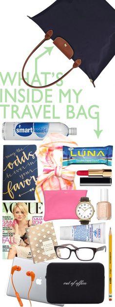 Inside My Travel Bag
