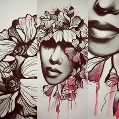 (Vapaa kuva) I got the inspiration for this beautiful piece from @timur_lysenko #watercolourtattoo #watercolour #woman #girl #tattoo #flowers #tattoodesign #turku #turkutattoo #soulskintattoo #soulskintattoostudio #finland #tattooer