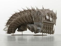 Steampunk Tendencies | Wim Delvoye  #Goth #Sculpture