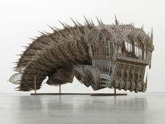 Steampunk Tendencies | Wim Delvoye  #Goth #Sculpture
