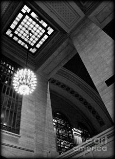 Grandeur At Grand Central Photograph by James Aiken #blackandwhitephotography #jamesaiken