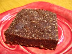 Chocolate-Date Squares - The Paleo Mom