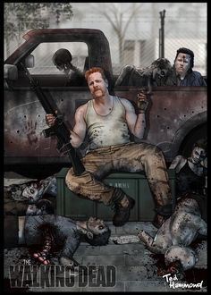 Abraham-Walking dead by ted1air on DeviantArt