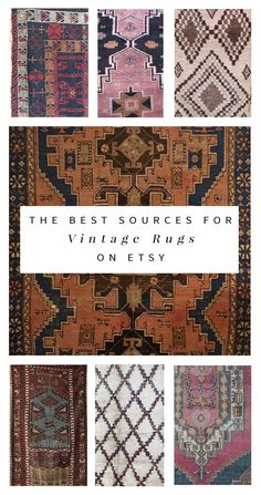 Interior stylist Anna Smith shares her secret sources for affordable vintage rugs -- from kilims to beni ourains and more!