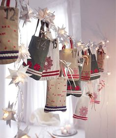 Natal para sonhar: Ideias para o Calendário de Natal.