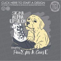 Sigma Alpha Epsilon | ΣΑΕ | SAE |Philanthropy | PR | TGI Greek | Greek Apparel | Custom Apparel | Fraternity Tee Shirts | Fraternity T-shirts | Custom T-Shirts