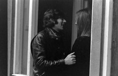 Roman Polanski and Sharon Tate, London, 1968.