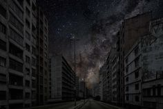 || What would cities and the stars look like without city lights? Photographic project by Thierry Cohen