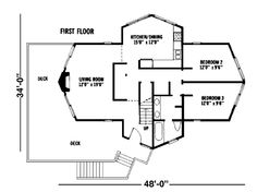 Contemporary Level One of Plan 92804