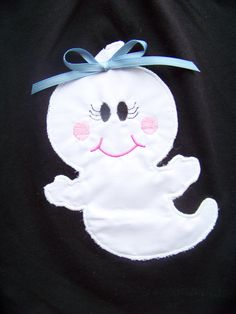 Glow in the Dark Ghost    Halloween is coming!!! Join in the fun with this super cute shirt! This listing is for a Glow in the Dark Ghost